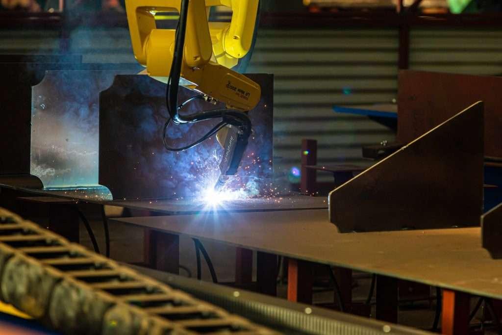 robot welding of micro panels